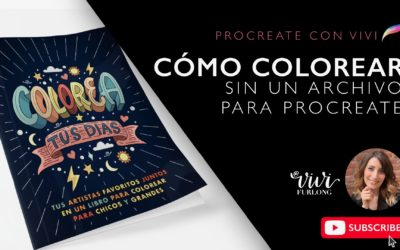 Tutorial – Cómo colorear en Procreate sin un archivo de Procreate