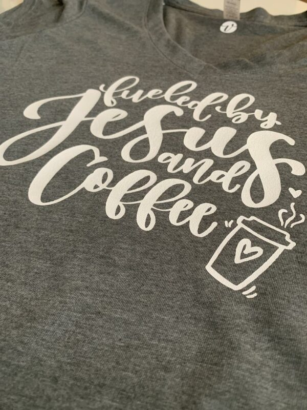 Fueled by Jesus and Coffee - by Vivi Furlong